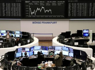 European shares fall as investors stay wary of virus impact