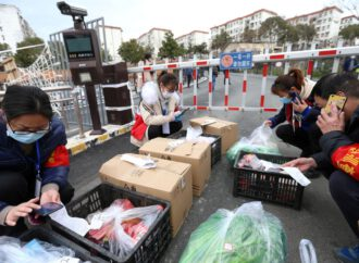 New coronavirus cases fall in China but fears grow over global spread