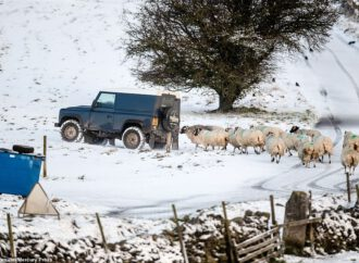 UK WEATHER Britain faces snow and ice Met Office issue yellow severe weather warnings