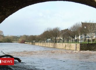 Storm Dennis: Woman rescued from rivers following flooding
