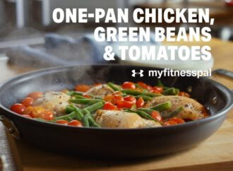 One-Pan Chicken, Green Beans & Tomatoes