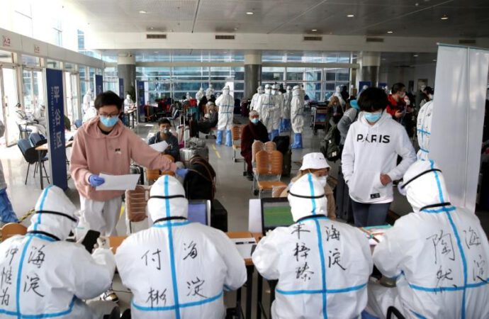 Beijing hit by record imported coronavirus cases, no China transmissions