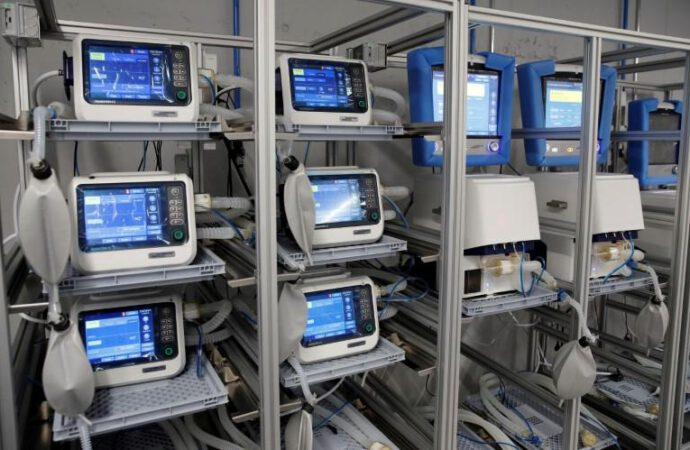 Army joins the production line as ventilator makers scramble to meet demand