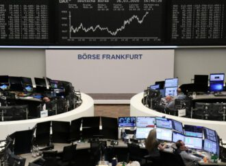 European shares dip as virus fears intensify
