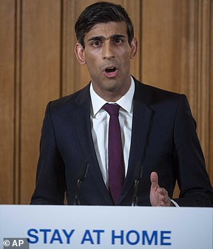 Chancellor Rishi Sunak 'saves 800,000 jobs with employer bailout'
