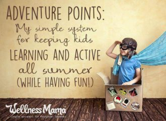 How to Keep Kids Active All Summer with Adventure Points