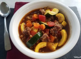 Hearty Italian Sausage Soup With Vegetables (One Pot Recipe)