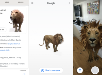 How to get AR animals to appear in your phone camera