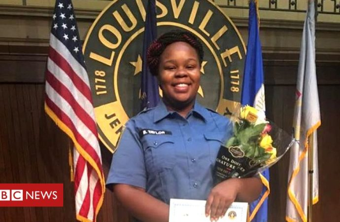 Breonna Taylor: Louisville officer to be fired for deadly force use