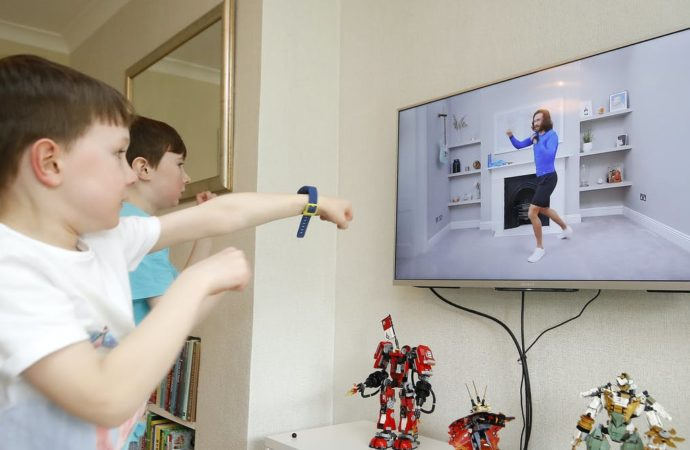 Joe Wicks got children moving – how to keep them active as lockdown ends