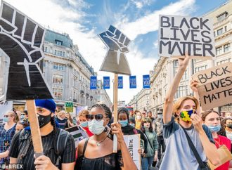 Black Lives Matter activists protest across the world including in London, France and Germany
