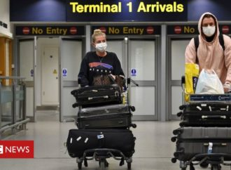 Coronavirus: England's quarantine scrapped for arrivals from 50 'low risk' countries