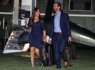 Donald Trump Jr's girlfriend Kimberly Guilfoyle tests positive for coronavirus, reports say