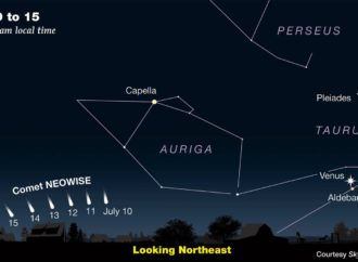 The world's nonsense keeping you awake in middle of the night? Good news. Go outside and see this two-tail comet • The Register