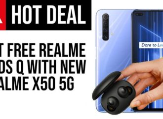 Get Free Realme Buds Q in Realme X50 5G UK Launch Offer- Tech Advisor