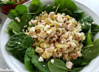 Spinach Artichoke Chicken Salad Recipe
