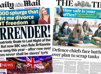 Newspaper headlines: BBC Proms 'row' and Army to 'axe tanks'