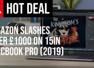 Save £1,034 on 15in MacBook Pro (2019) on Amazon