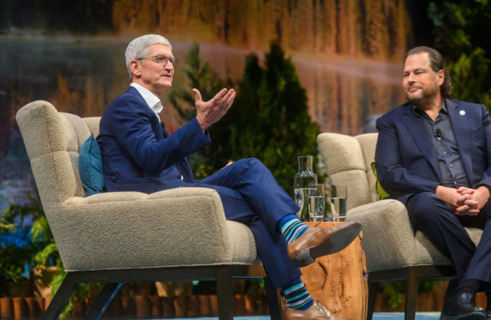 Tim Cook has now led Apple for nine years