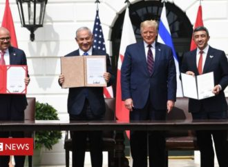 Trump hails 'dawn of new Middle East' with UAE-Bahrain-Israel deals