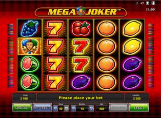 Play Free Mega Joker Online