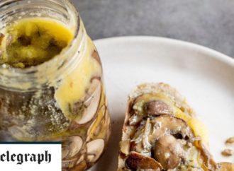 Potted mushrooms recipe